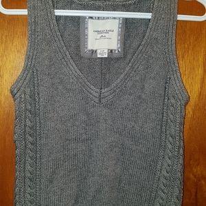American eagle sweater vest sz sm